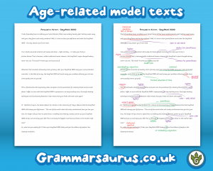Year 6 model text letter of complaint annotated and blank year 6 explanation model text annotated and blank spiritdancerdesigns Image collections