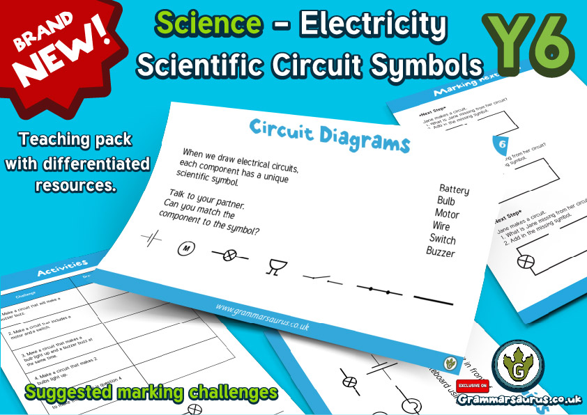 NEW! Year 6 - Electricity Lesson 1 - Scientific Circuit Symbols ...