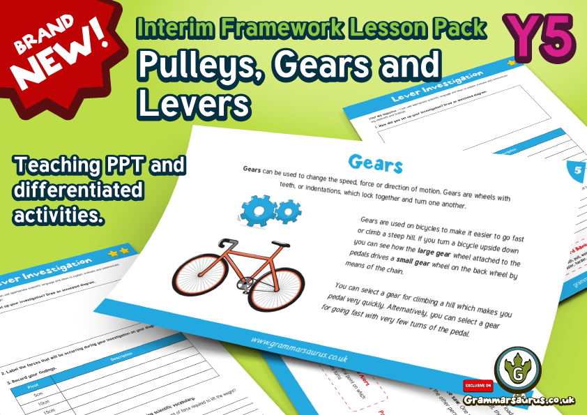 Pulleys And Levers Ks2 : Teaching gears ks welcome to key stage