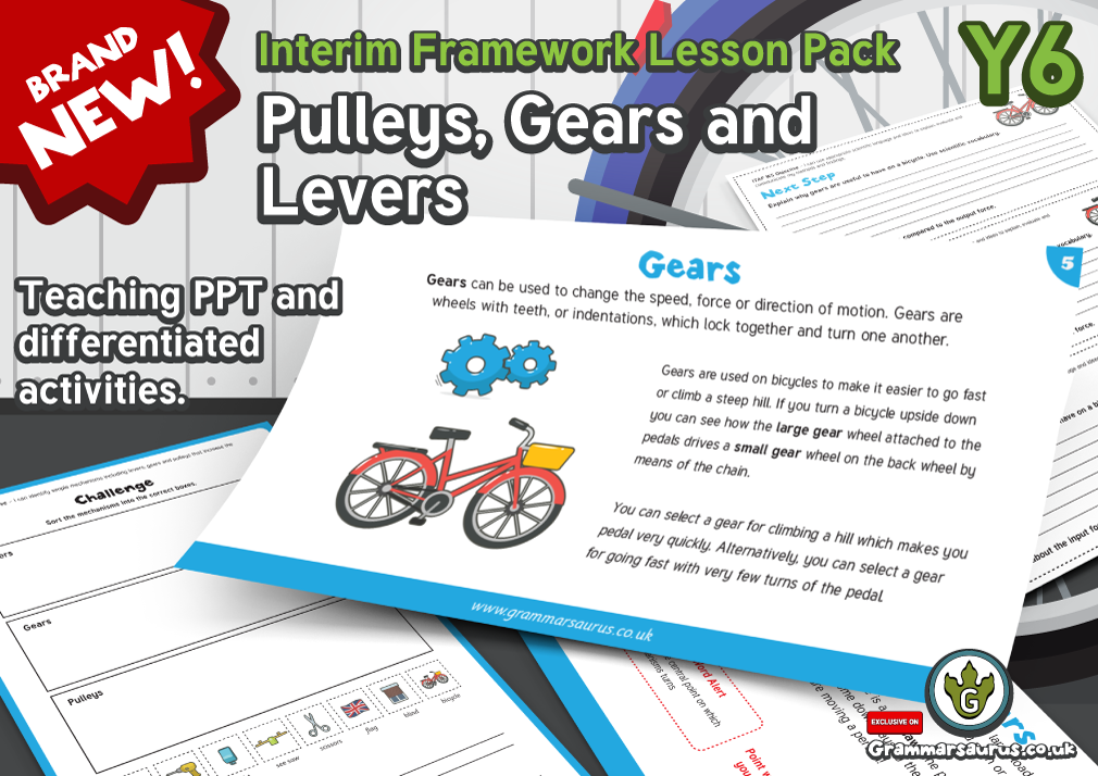 Pulleys And Levers Ks2 : New year science gears levers and pulleys interim