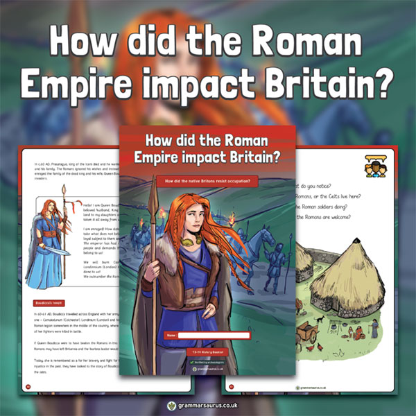 How did the Roman Empire impact Britain?