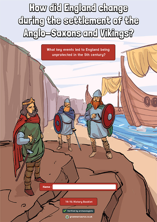 Settlement of anglo Saxons