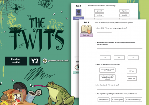"Year 2 Shared Reading Booklet – ""The Twits"" by Roald Dahl"