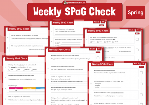 Year 4 Weekly SPaG Check – Spring